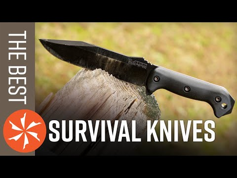 Best Survival Knives of 2020 Available at KnifeCenter