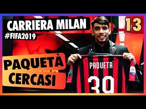 PAQUETÀ CERCASI // Carriera allenatore Milan su Fifa 19 // Daniele Brogna