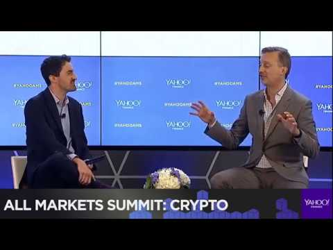 Ripple Cory Johnson At at Yahoo Finance crypto summit