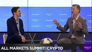 Ripple Cory Johnson At at Yahoo Finance crypto summit