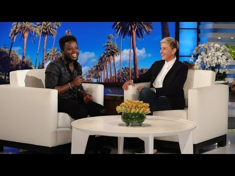 Ellen Rewards Fan Lawrance for Spreading the Good in His Community