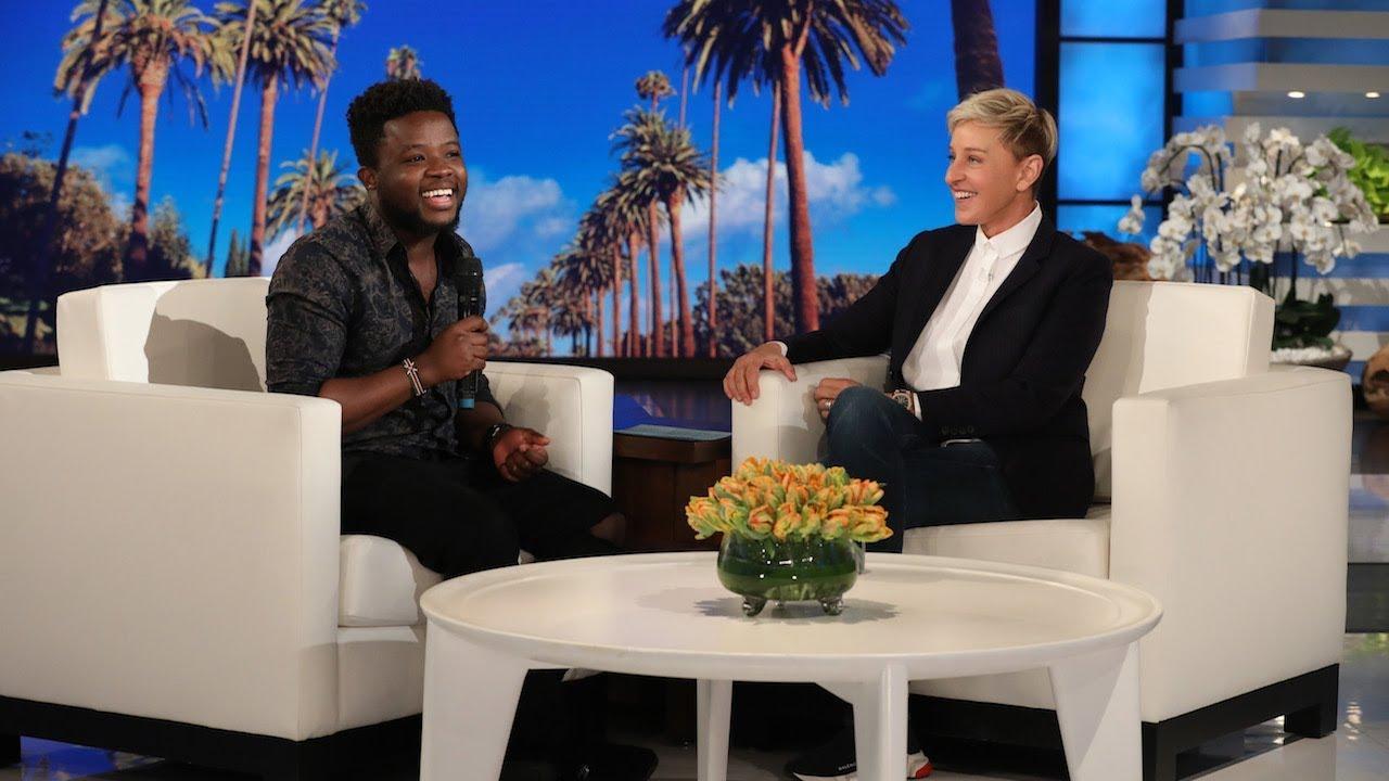 Ellen Rewards Fan Lawrance for Spreading the Good in His Community
