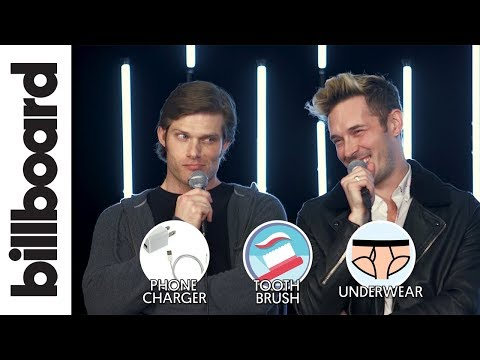 Sam Palladio & Chris Carmack Play 1 Has 2 Go! The Game of Impossible Choices  Billboard