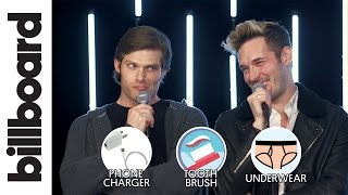 Sam Palladio & Chris Carmack Play 1 Has 2 Go! The Game of Impossible Choices | Billboard