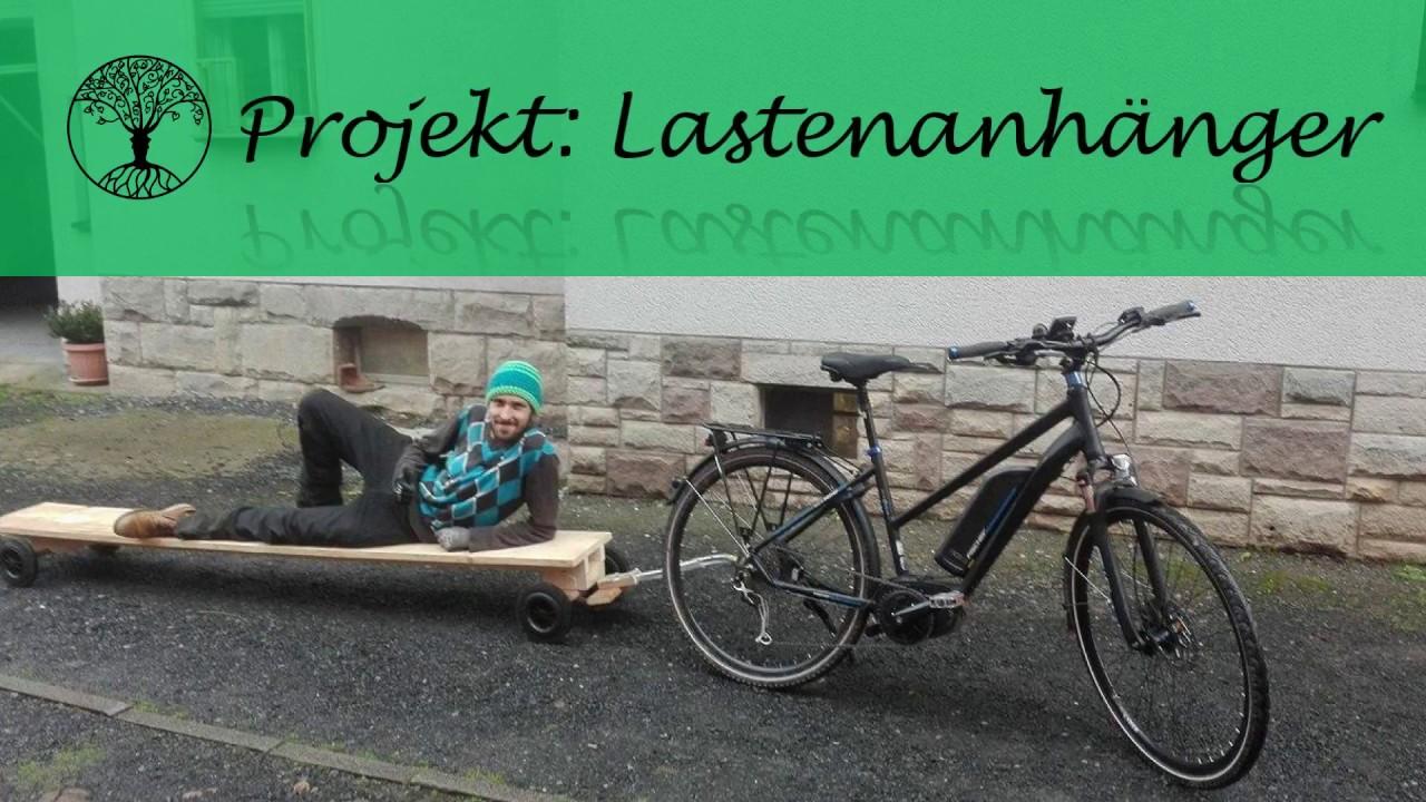 diy fahrrad lastenanh nger f r langes zeug youtube. Black Bedroom Furniture Sets. Home Design Ideas