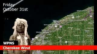 WPNS Weather Forecast for Painesville 10-31-2014