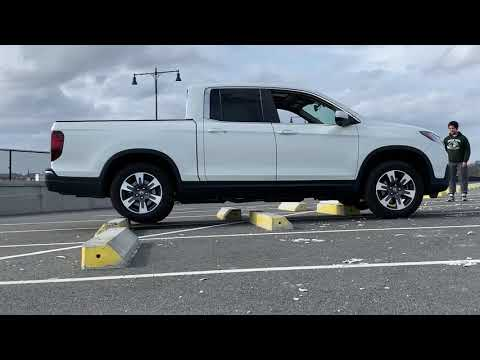 2019 Honda Ridgeline Normal Ground Clearance