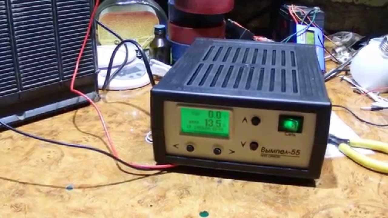 схема приставки автомата к зарядным устройствам