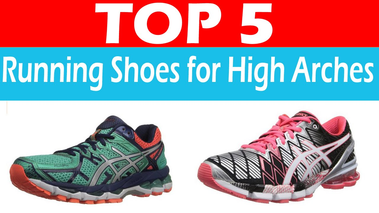 Best Running Shoes for High Arches - YouTube