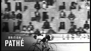 Reg Harris Wins Cycling Championship (1950)
