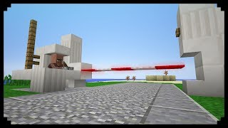 ✔ Minecraft: How to make a Boom Gate