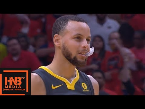 Golden State Warriors vs New Orleans Pelicans 1st Half Highlights / Game 3 / 2018 NBA Playoffs