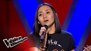 """Sanchir.U - """"Believe"""" - Blind Audition - The Voice of Mongolia 2018"""