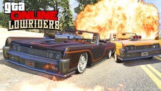 GTA 5 Online (LowRiders) - Гонки на Выживание! #140(Скидки - http://zaka-zaka.com/game/sale/ Конкурс в ВК - http://vk.com/zakazaka_com Играем в GTA 5 Online на PC. Вышло новое DLC - Low Riders (Bennys)., 2015-10-25T12:30:00.000Z)