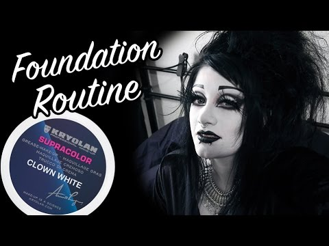 My Foundation Routine with Greasepaint!  Black Friday