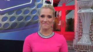 Interview With Kristine Leahy Sideline Reporter For American Ninja Warrior At Universal Studios Fl