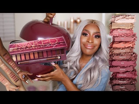 OH OK Urban Decay I See You!! Naked Cherry Collection Review | Jackie Aina