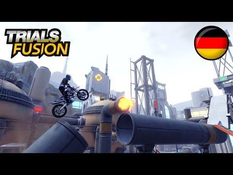 DAS IST DER HORROR - TRIALS FUSION - Let's Play Trials Fusion  - Dhalucard