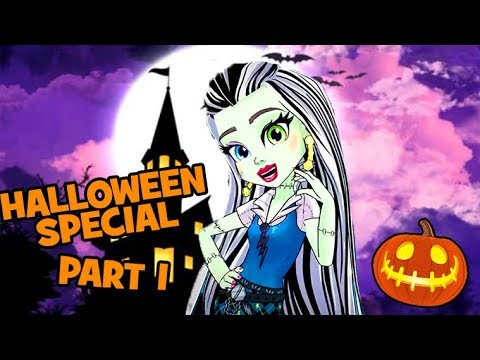Monster High 💚🎃HALLOWEEN SPECIAL 💚🎃Ghoul Squad 💚🎃Full Episode Compilation! | Part 1
