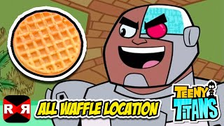 Teeny Titans - All Waffles Location - iOS / Android Gameplay Video