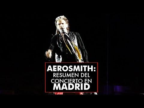 Aerosmith: resumen de su concierto en Madrid