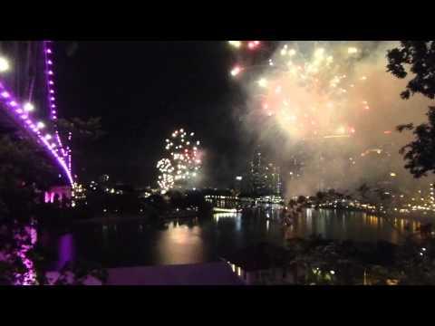 Brisbane Riverfire FIREWORKS - 27 September 2014 (with Preshow)