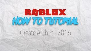 ROBLOX - How To Create A Shirt [Mac]