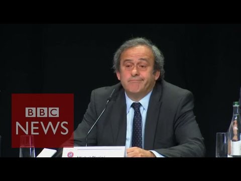Fifa corruption: 'You have to leave' Platini tells Blatter - BBC News
