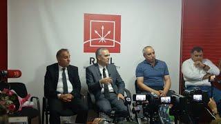 """""""İlqar Məmmədovun mətubat konfransı o həbsindən danışır"""" Canlı yayım"""