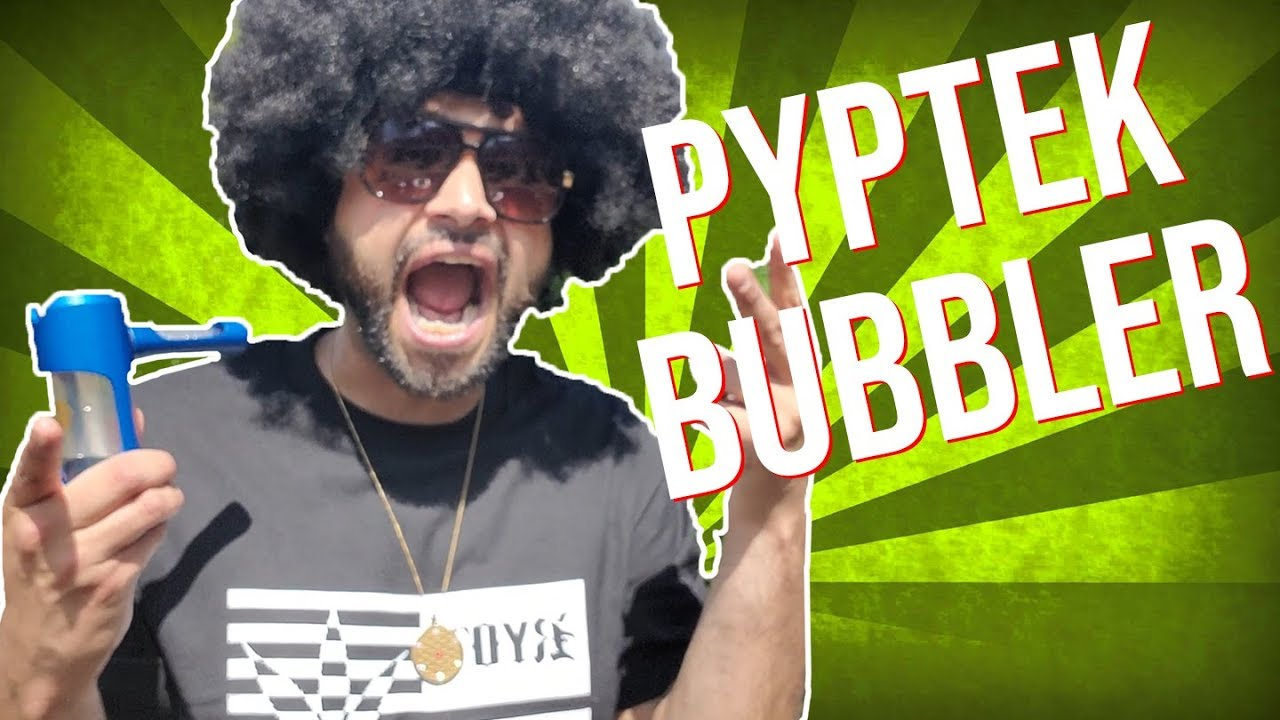 My Favorite New Pyptek Bubbler   Indestructible, Portable and Super Sleek!