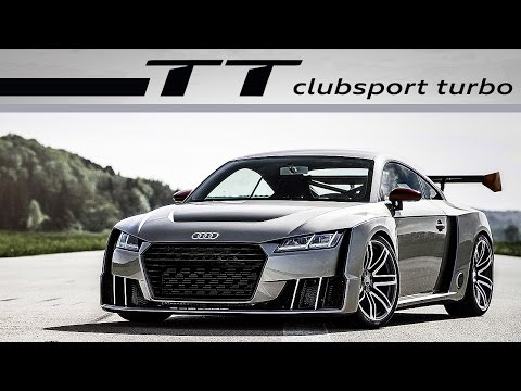 Audi TT Clubsport Turbo | ACCELERATION - EXHAUST SOUND