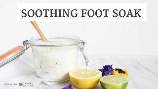 DIY SOOTHING CITRUS FOOT SOAK | Beauty, Lifestyle, Wellness | Limoneira