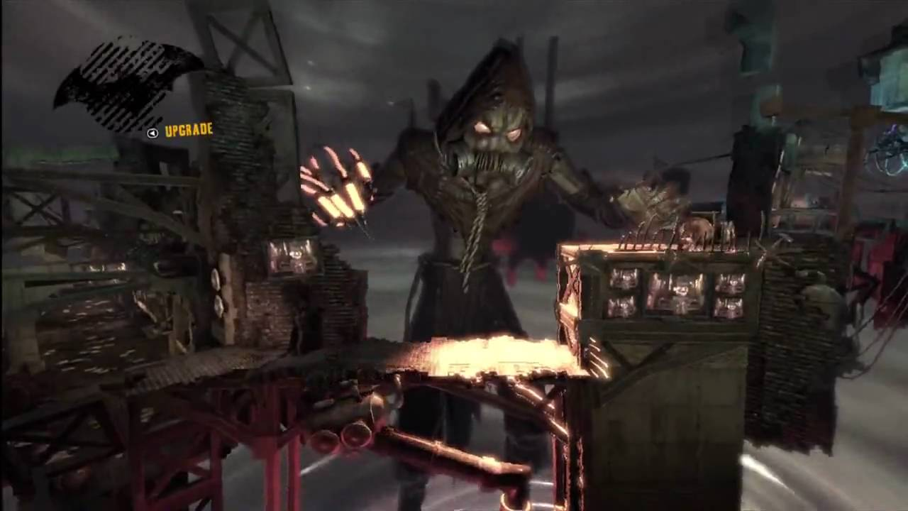 Batman Arkham Asylum scarecrow dream 3 PLAY AS THE JOKER