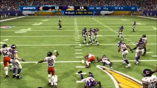 Madden 13: Flint Beastwood - Chicago Bears vs. Minnesota Vikings