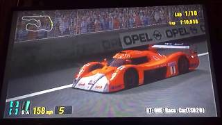 Gran Turismo 3 A-Spec GT-ONE Race Car (TS020) Deep Forest Raceway