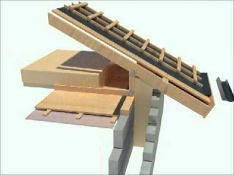 Passive House Design Roof Detail 3d Youtube
