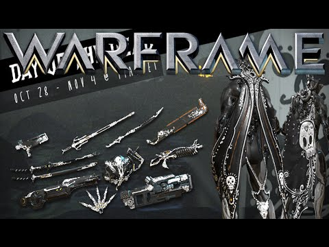 Warframe - Update 17.9 Cerata & Day Of The Dead Skins