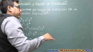PUNTOS DE INFLEXION - EJERCICIO RESUELTO
