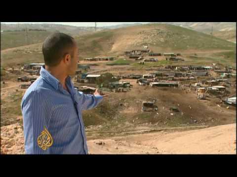 West Bank village under threat
