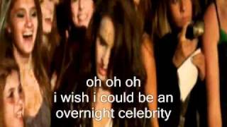 Alyssa Shouse - Overnight Celebrity -LYRICS-