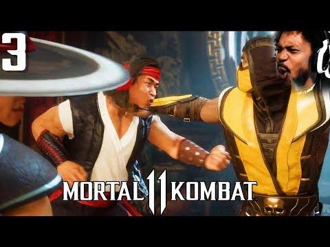 LIU KANG + KUNG LAO VS SCORPION OMGOSHH | Mortal Kombat 11 #3