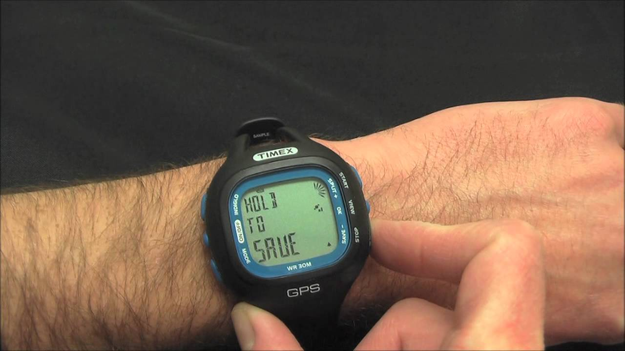 timex marathon gps how to youtube rh youtube com Timex GPS Running Watch Timex Ironman GPS