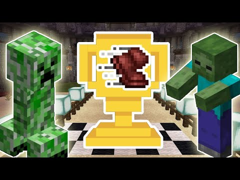 CREEPER VS ZOMBIE - WHO IS FASTER? | (MINECRAFT MOB MARATHON)