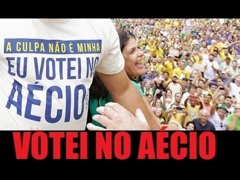 Eu votei no Aécio Neves em 2014