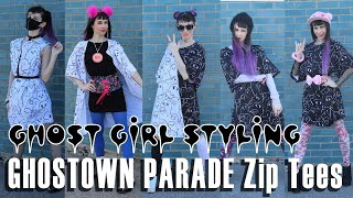 GHOST GiRL Styling: GHOSTOWN PARADE Zip Tees