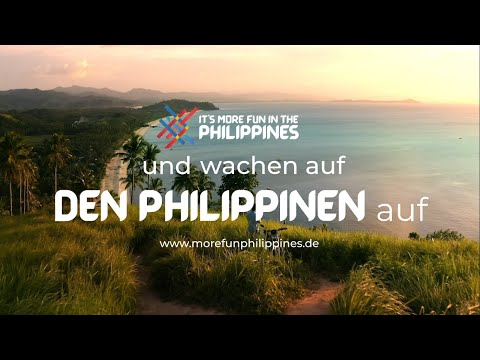 Wake Up in the Philippines | Philippines Tourism Ad (German Translation)