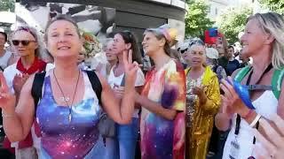 ¡TODOS A BERLÍN! LA CAPITAL ALEMANA  INVITA A EUROPA A LA MANIFESTACIÓN PROHIBIDA. 29.08.2020.