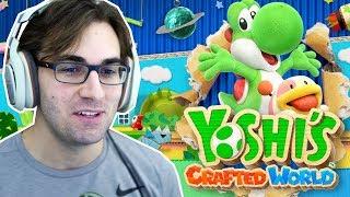 YOSHI'S CRAFTED WORLD - Gameplay da Demo! Exclusivo de Nintendo Switch!