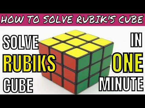 how-to-solve-rubik's-cube-in-hindi- -3x3x3- -easy-way- -for-beginners