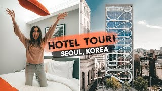 Sneak Peak | NEW HOTEL CONCEPT | Hotel Tour: Aiden, Seoul Korea